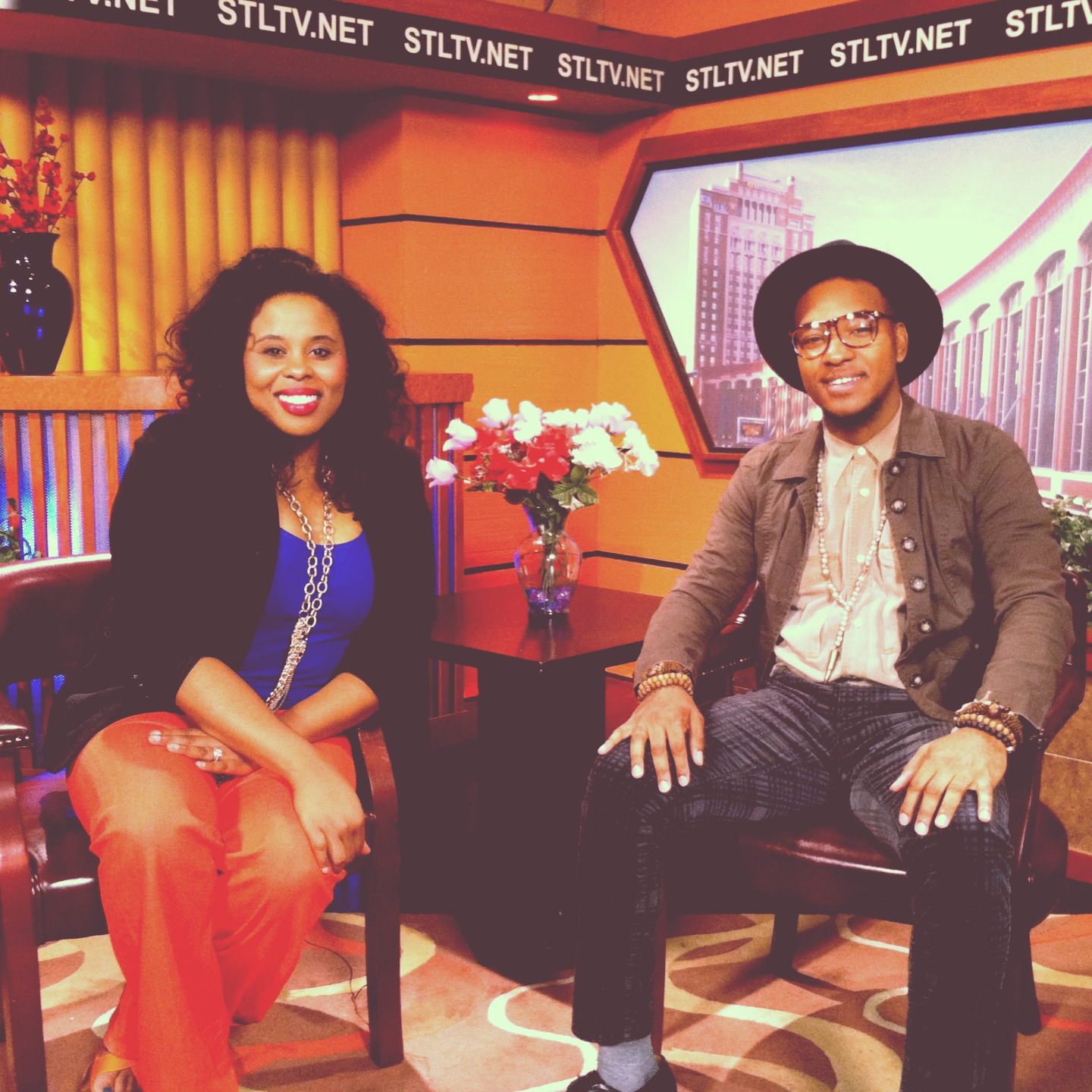 #PeepThis: Interview of THELONIUS KRYPTONITE w/ Christia DeShields on Stl TV Channel