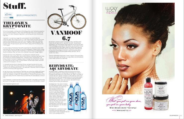 Check out THELONIUS KRYPTONITE in current issue of Delux Magazine.
